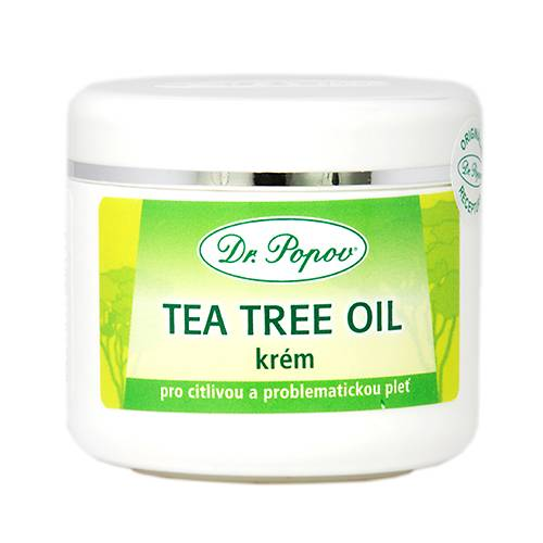 Dr. Popov Tea Tree Oil krém, 50 ml