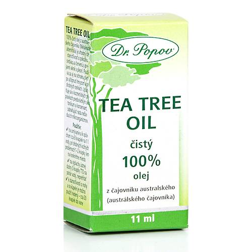 Dr. Popov Tea Tree Oil 100%, 11 ml