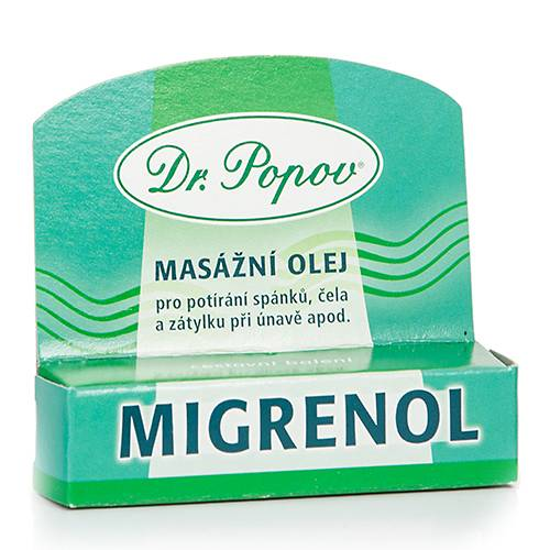 Dr. Popov Migrenol, 6 ml - roll-on