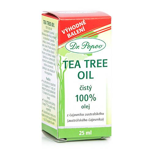 Dr. Popov Tea Tree Oil 100%, 25 ml