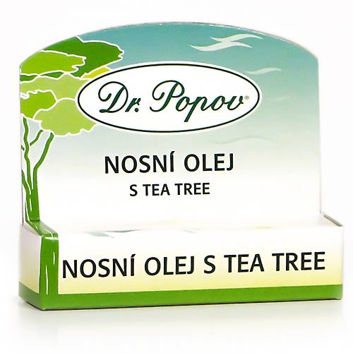 Dr.Popov Nosní olej s Tea Tree roll-on 6 ml